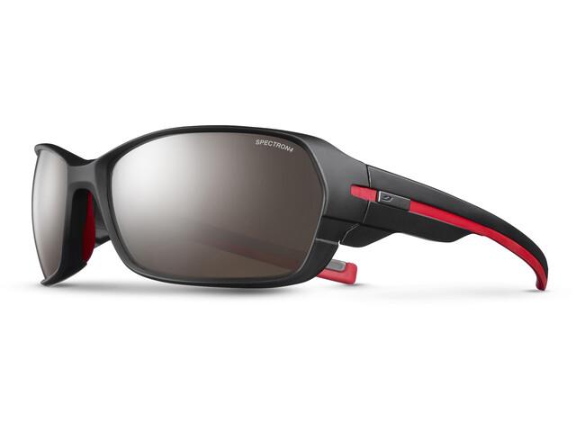 Julbo Dirt² Spectron 4 Sunglasses Matt Black/Red-Brown Flash Silver